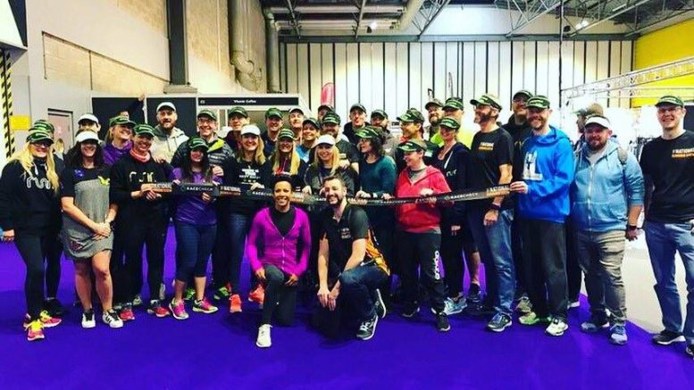 Racecheck #Visorclub at the National Running Show - with Dame Kelly Holmes