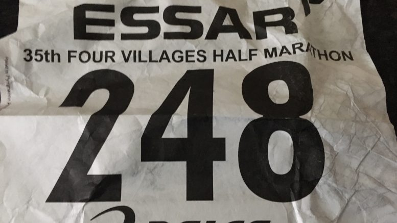 4 villages half marathon goody bag