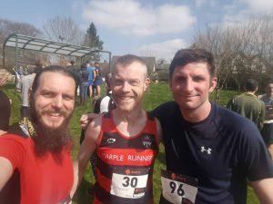 Lyme Runners after Chicken Run Fell Race