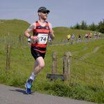 Buxton Half Marathon - descent