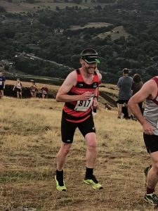 Eccles Pike Fell Race - on top of the PIke