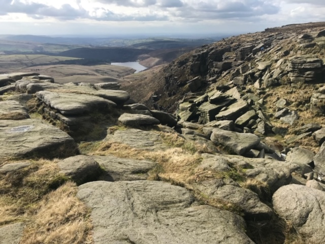 View from Kinder Downfall