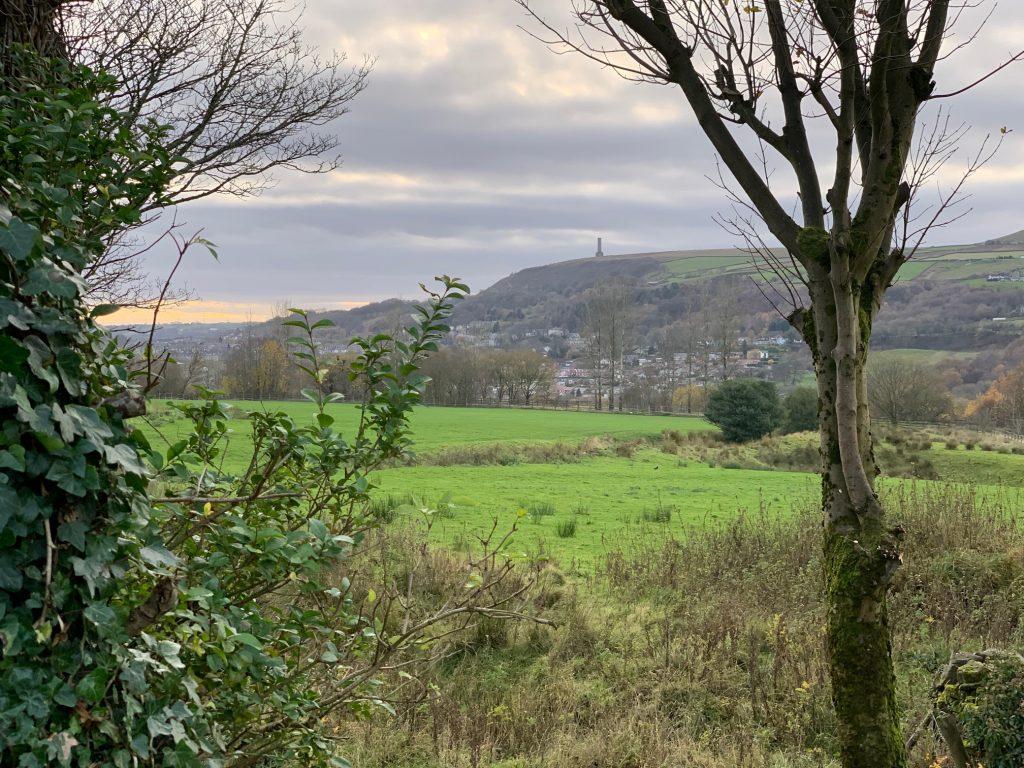 A bit of lumpy landscape!