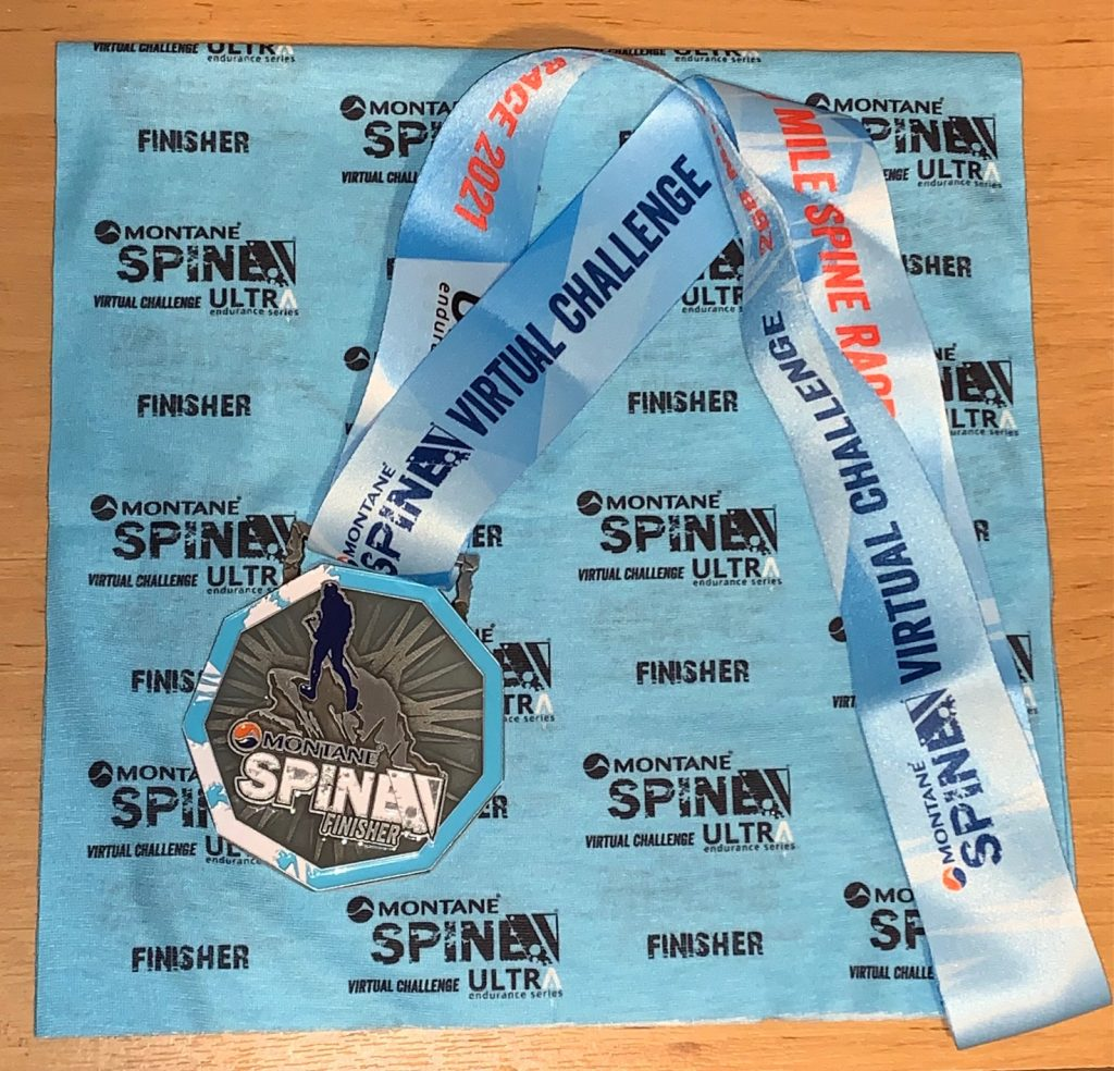 Virtual Spine Race medal & buff