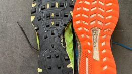 Road vs fell shoe
